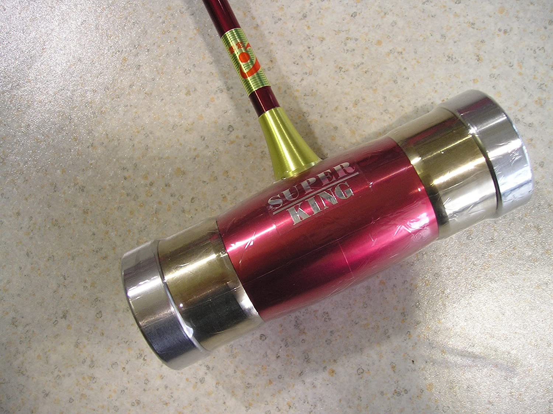 マレットゴルフ スティック 二重構造フェイス 赤 パワフルヘッド B072M7CPBG カーボン A-1 赤 70cm 70cm パターグリップ B072M7CPBG, オオシマチョウ:db9ae6c3 --- dqfansurvey.online
