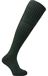 bcde473c47c Dr Hunter - Mens Thick Extra Long Over the Knee Padded Sole Wool Blend  Thermal Hiking