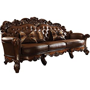 Amazon.com: Meridian Furniture 675-CH Barcelona Leather ...