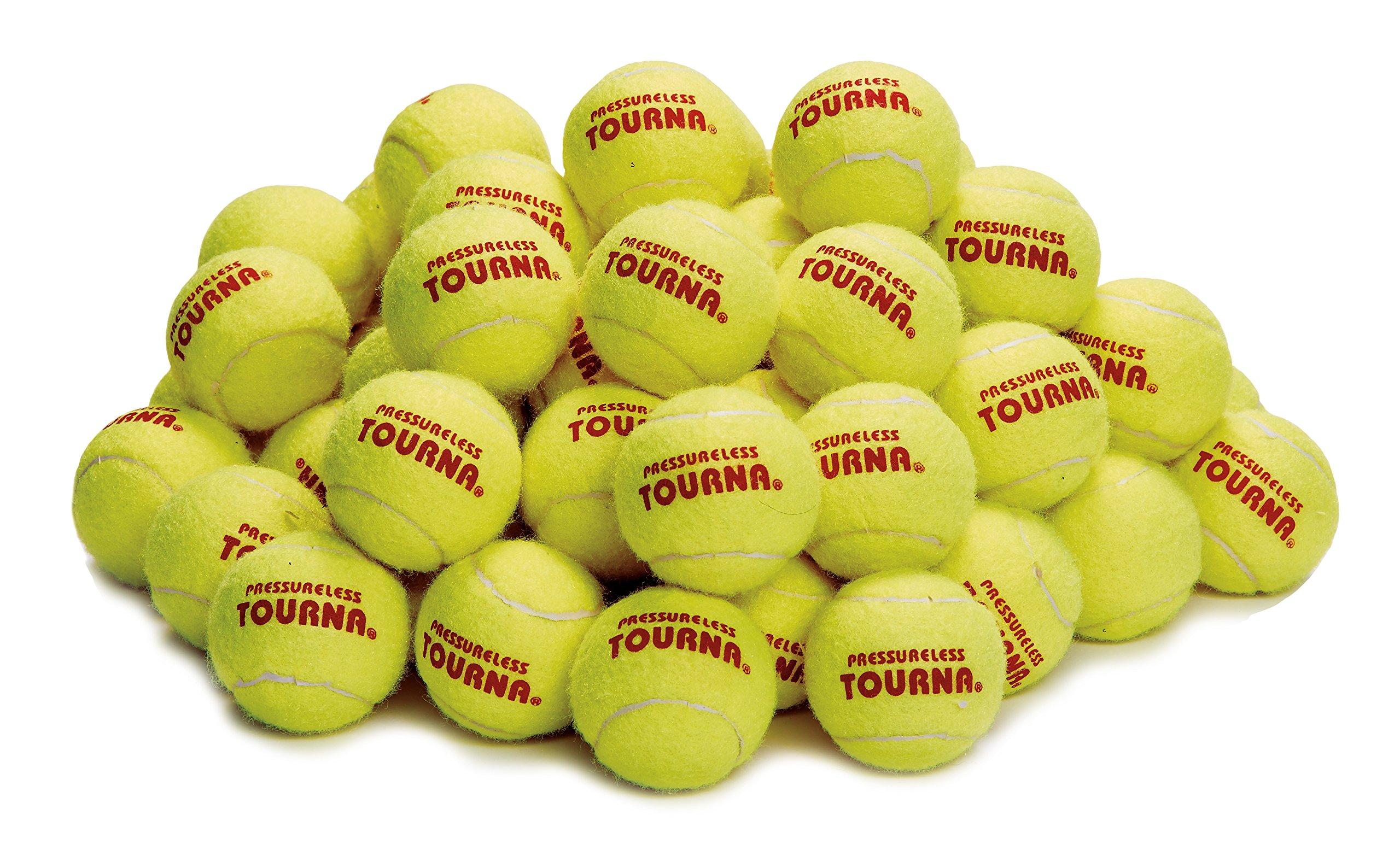 Tourna Pressureless Tennis Ball (Pack of 60) by TOURNA