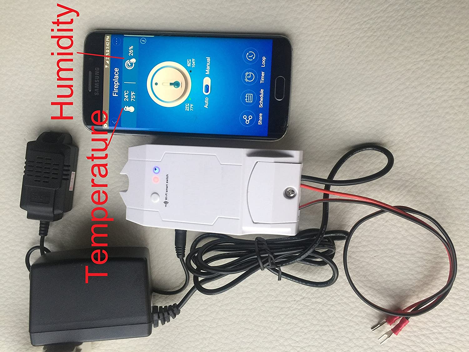 Durablow Fireplace Millivolt Gas Valve Wifi Smart Home Remote Wiring Control Compatible With Alexa Google
