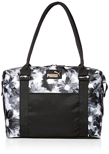 PUMA Women s Evercat Jane Tote, Black White, OS  Amazon.ca  Clothing ... 18df8b63ca