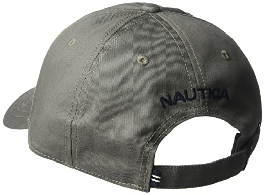 Nautica Men s Standard Classic Logo Adjustable Baseball Cap Hat ... 8ca4eda0d45f