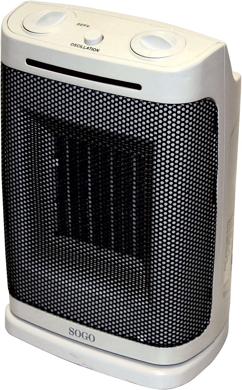 Sogo Calefactor con Ventilador: Amazon.es: Hogar