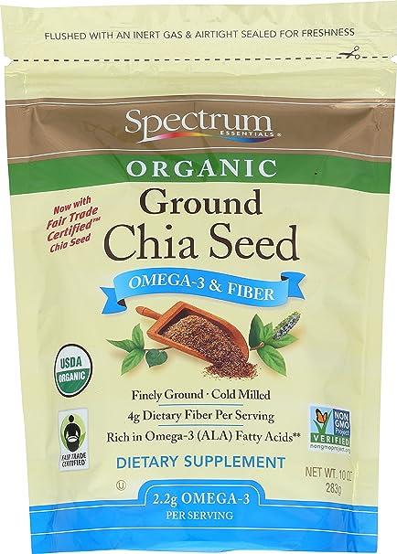 Spectrum Essentials semillas de Chia, 10 onzas: Amazon.com ...