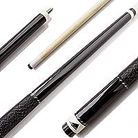 Mizerak Hardwood Billar (2Piece), 144,8cm Negro