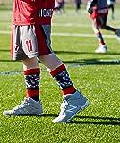 MadSportsStuff Lacrosse Socks with Player on Camo
