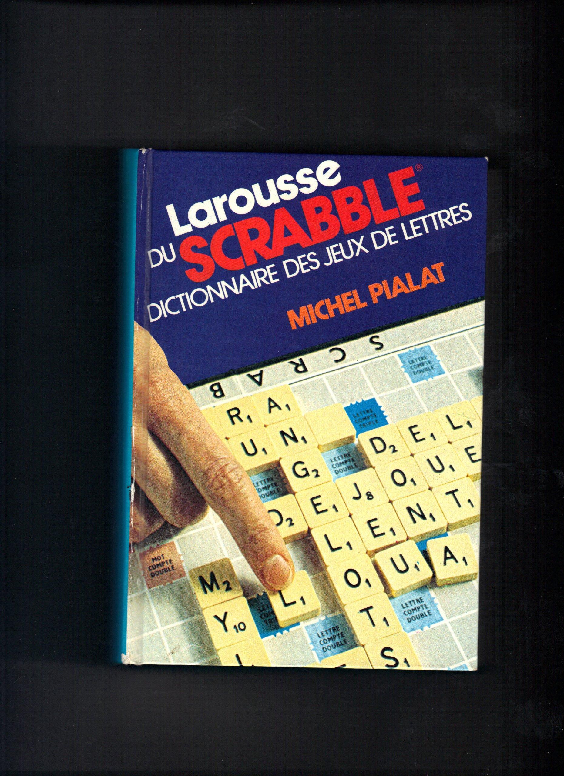 Larousse du scrabble : Dictionnaire des jeux de lettres: Amazon.es: Libros