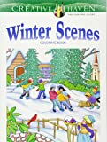 Creative Haven Winter Scenes Coloring Book (Adult Coloring)