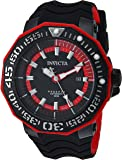 Invicta Men's 'Reserve' Automatic Stainless Steel and Silicone Casual Watch, Color:Black (Model: 23031)