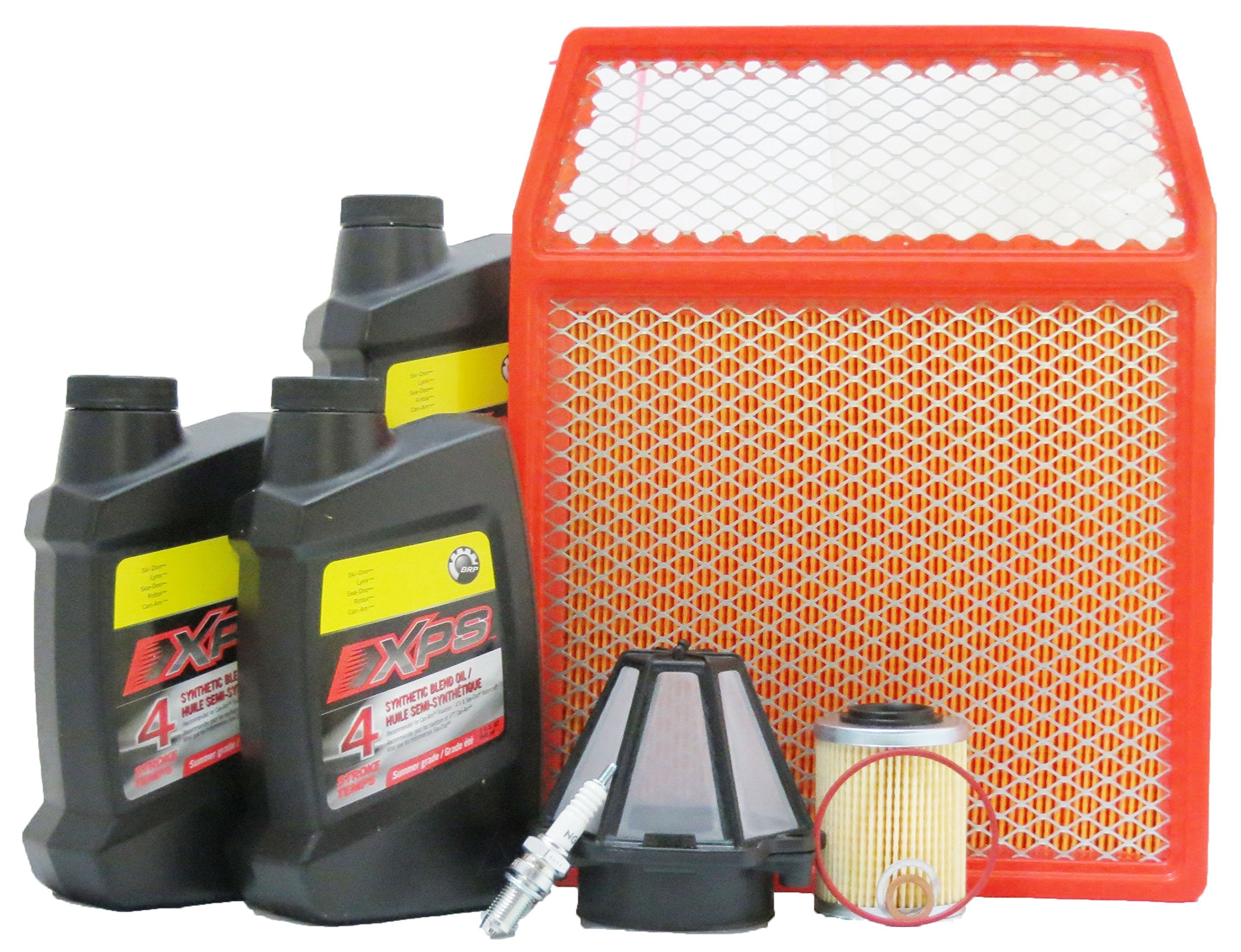 2011-2014 Can-Am Commander 1000 Complete Maintenance Kit With Pre Filter