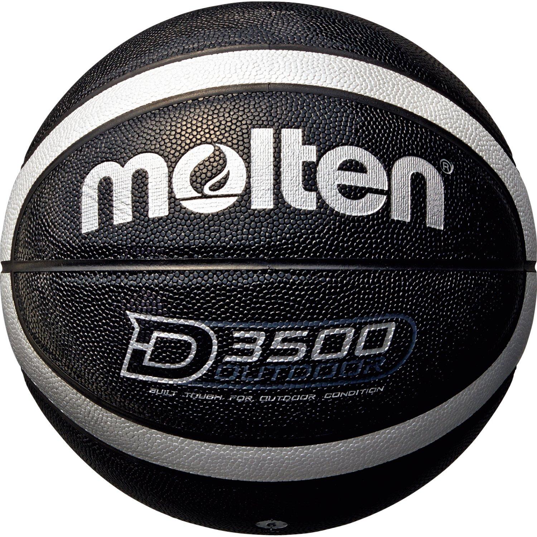 Molten Damen B6D3500-KS Basketball, Schwarz, 6 MLTN5|#molten