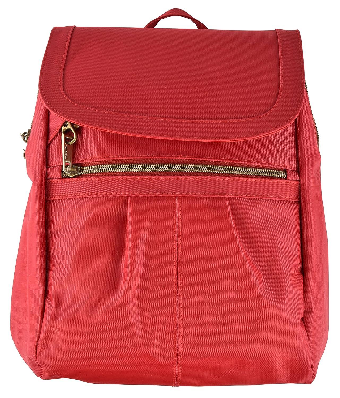 Travelon Anti-theft Signature Slim Backpack, Cayenne, One Size 43121 270