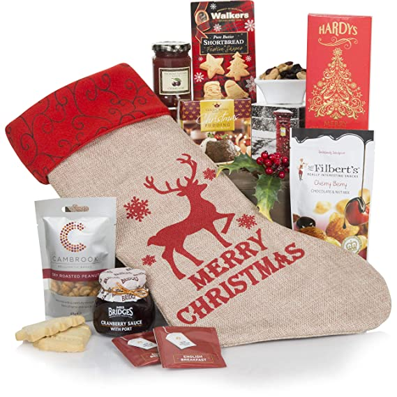 Caja de cesta de regalos Feliz Navidad - Cestas de regalo de Navidad - Regalos de