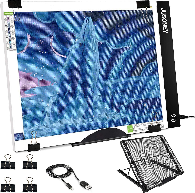 Jusoney - Diamond Painting B4 LED Licht-Pad mit Ständer