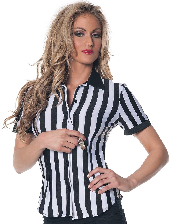 Underwraps Women's Plus-Size Referee Fitted Shirt Underwraps Child code