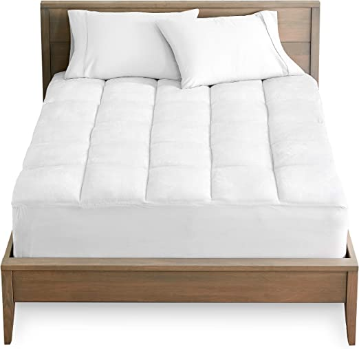 Amazon.com: Bare Home Pillow Top Twin Extra Long Mattress Pad
