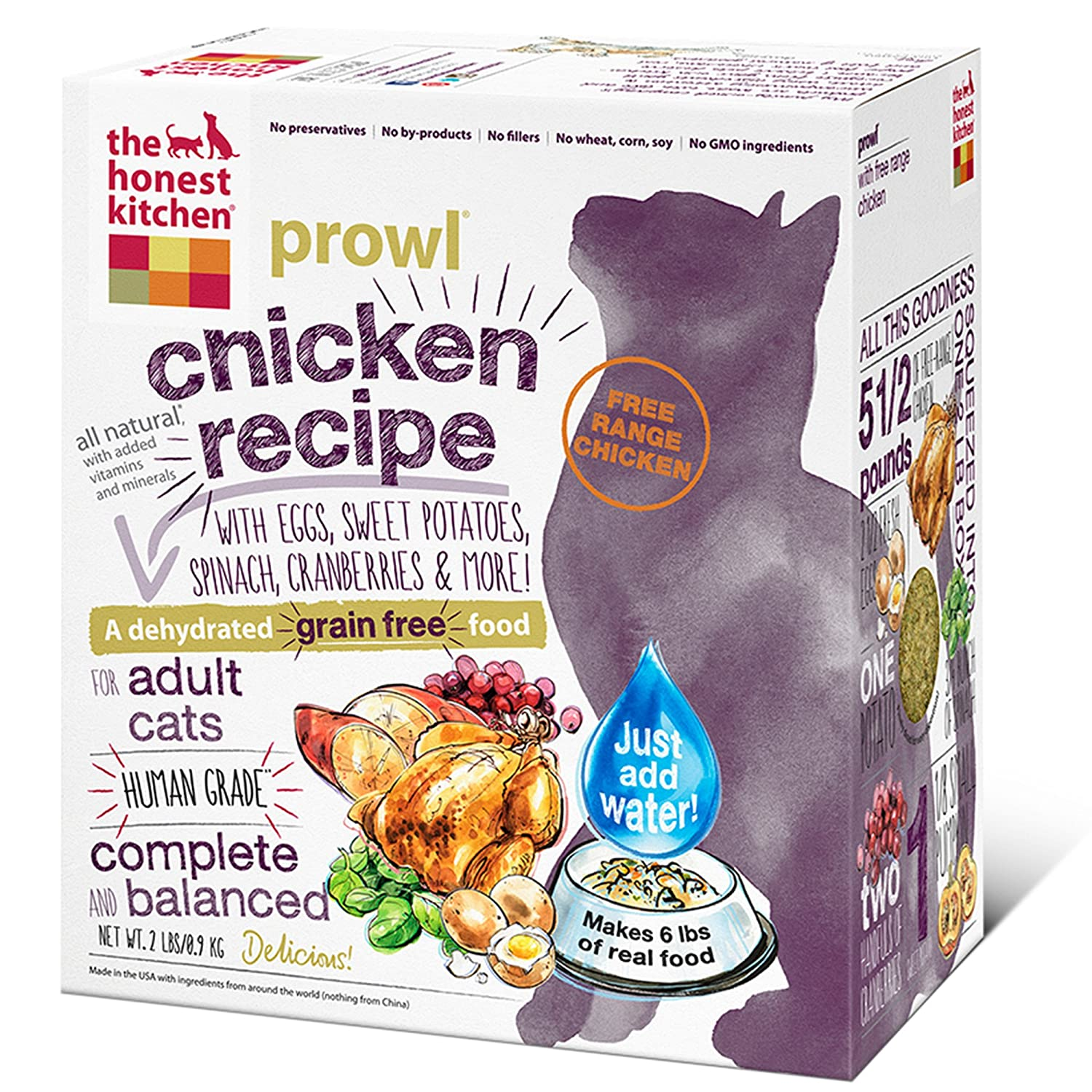 the honest kitchen prowl grain free cat food