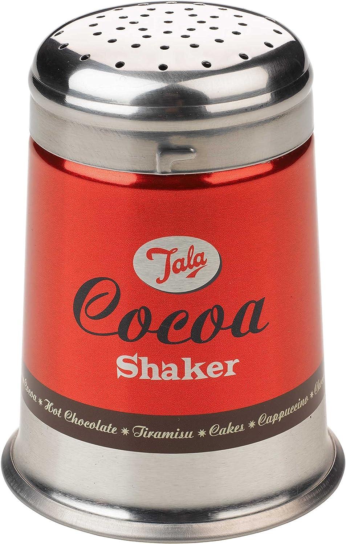 Stainless Steel Tala 10B96117 Sugar Shaker Red