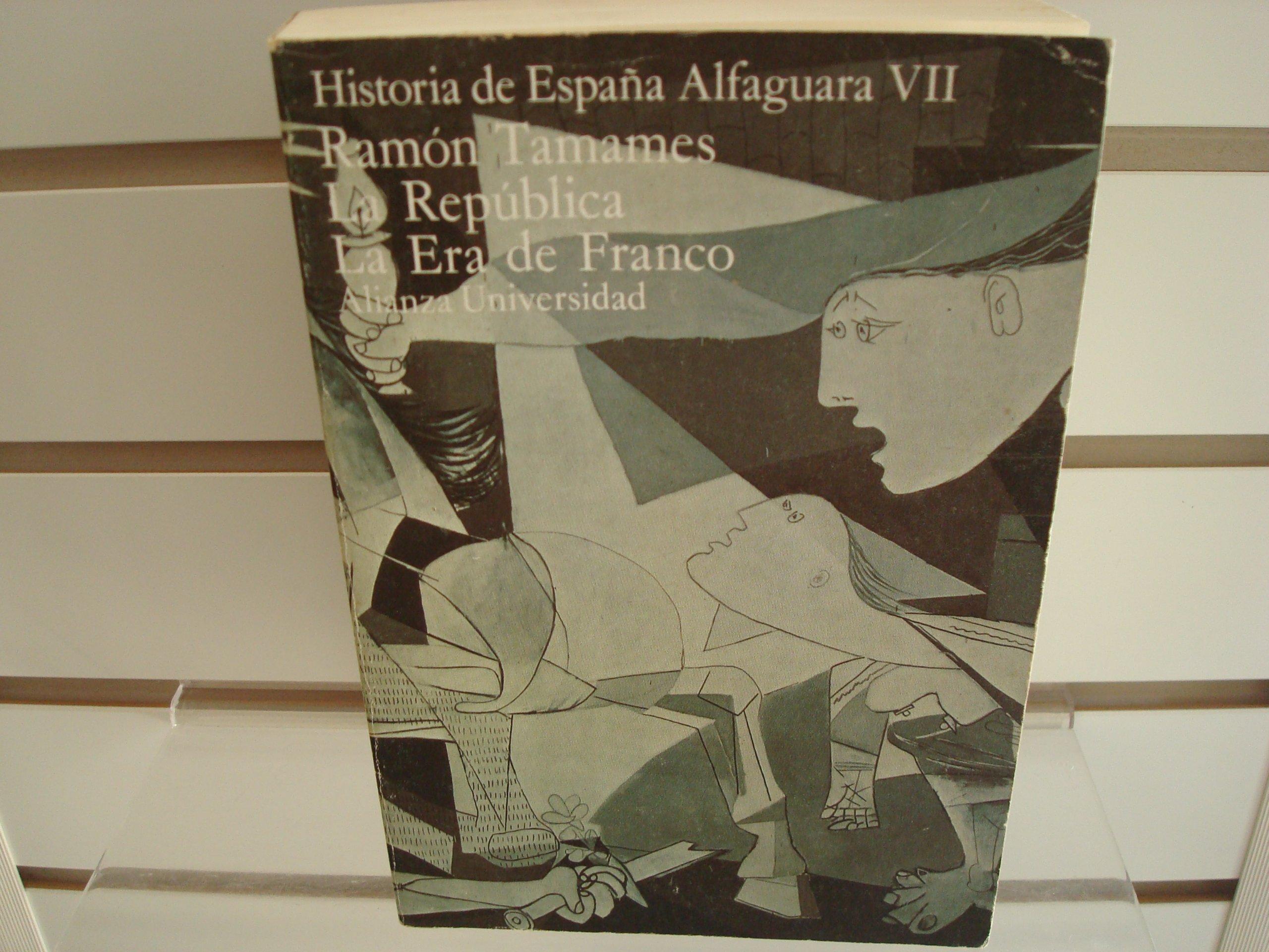 La República ; La era de Franco: Amazon.es: TAMAMES, Ramón: Libros