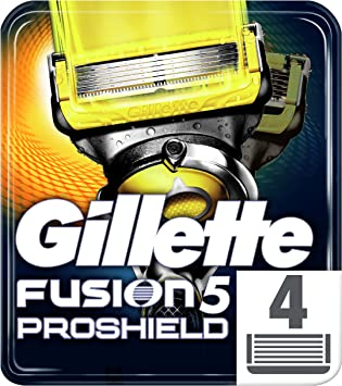 Gillette Fusion Proshield Pack de 4 cuchillas: Amazon.es: Salud y cuidado personal