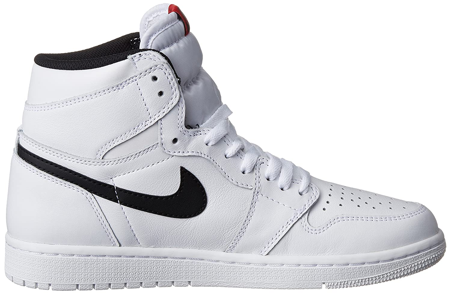 Nike Jordan Men's Air Jordan 1 Retro High OG White/Black/White Basketball  Shoe 10.5 Men US: Jordan: Amazon.ca: Sports & Outdoors