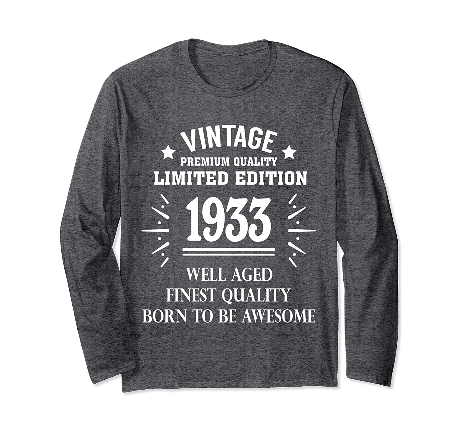 3de05dc95092a Funny Vintage T-shirt 1933 85th Years Old 85 Birthday Gift-alottee gift