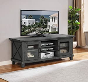 Best Quality Furniture TV Stand, Rustic gray