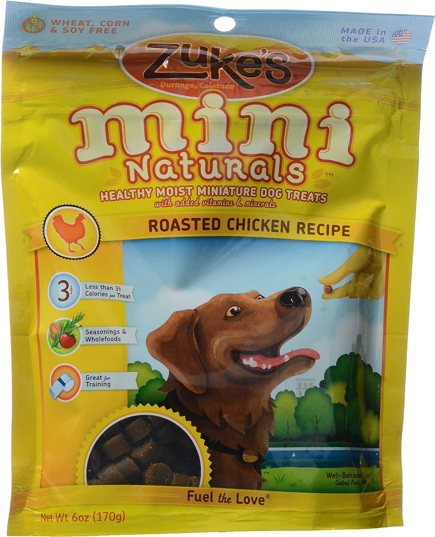 Zuke's, Mini Naturals Dog Treats, Chicken, 6 oz