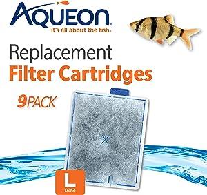 Aqueon Replacement Filter Cartridges, Large
