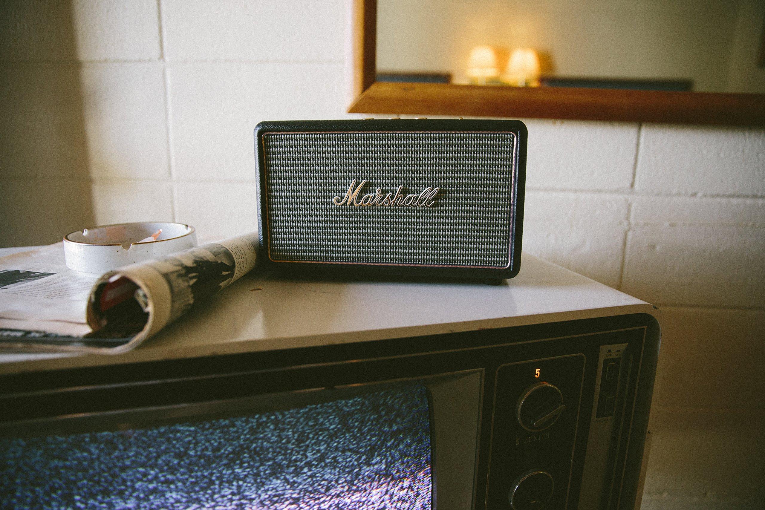 Marshall 04091802 Acton Wireless Bluetooth Speaker Black by Marshall (Image #3)