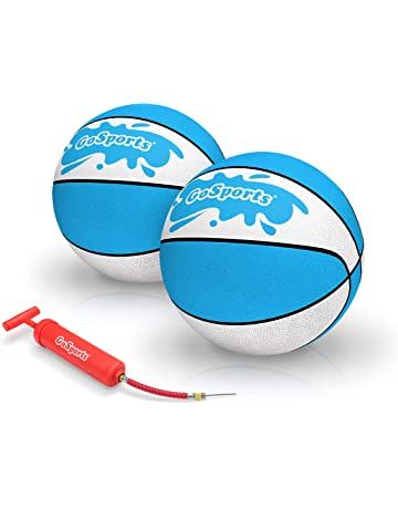 633d63d005b GoSports Water Basketballs 2 Pack | Choose Between Size 3 and Size 6 |  Great for