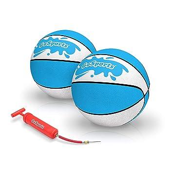 GoSports Paquete de 2 balones de Baloncesto de Agua | Elija Entre ...