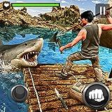 hunting games - Raft Survival Hero