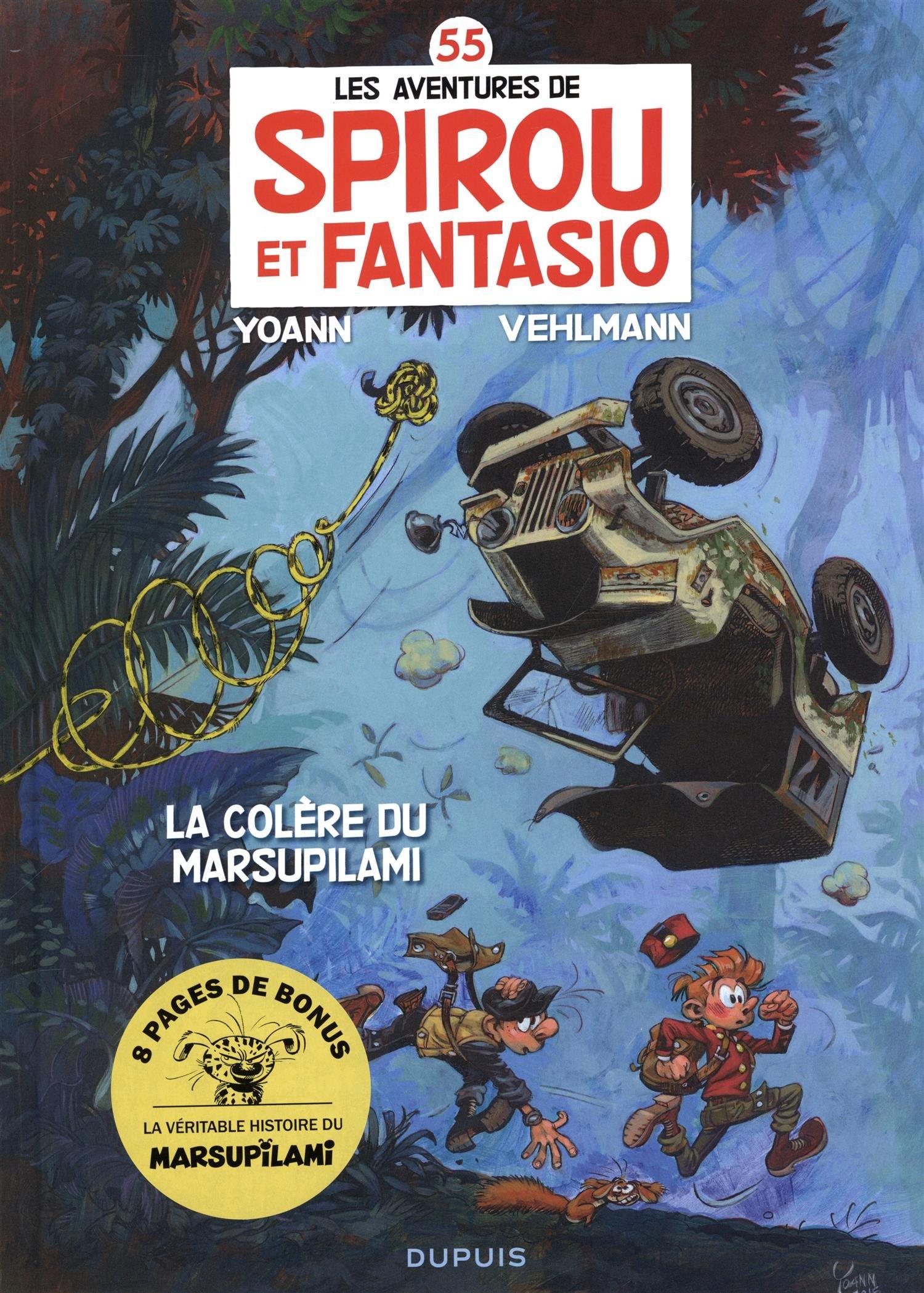Spirou et Fantasio Tomes 1 à 55