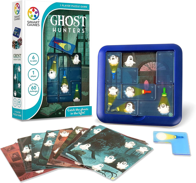 Smart Games - Cazafantasmas, Juego de ingenio: Amazon.es: Juguetes ...