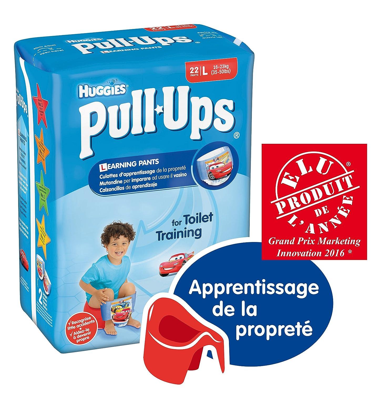 Pull-Ups Calzoncillos de aprendizaje, talla 6, niño, 44 unidades: Amazon.es: Amazon Pantry