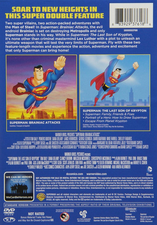 Amazon superman last son of kryptonsuperman brainiac amazon superman last son of kryptonsuperman brainiac attacks dbfe various movies tv biocorpaavc