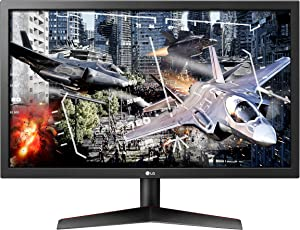 LG Ultragear 24GL600F-B 24 Inch Full HD Gaming Monitor with Radeon FreeSync Technology, 144Hz Refresh Rate, 1ms Response Time (2019)