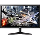 LG UltraGear 24GL600F-B 24 Inch Full HD Gaming Monitor with Radeon FreeSync Technology, 144Hz Refresh Rate, 1ms Response…