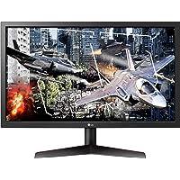 LG 24 inch UltraGear Full HD Gaming Monitor with Radeon FreeSync, Black - 24GL600F