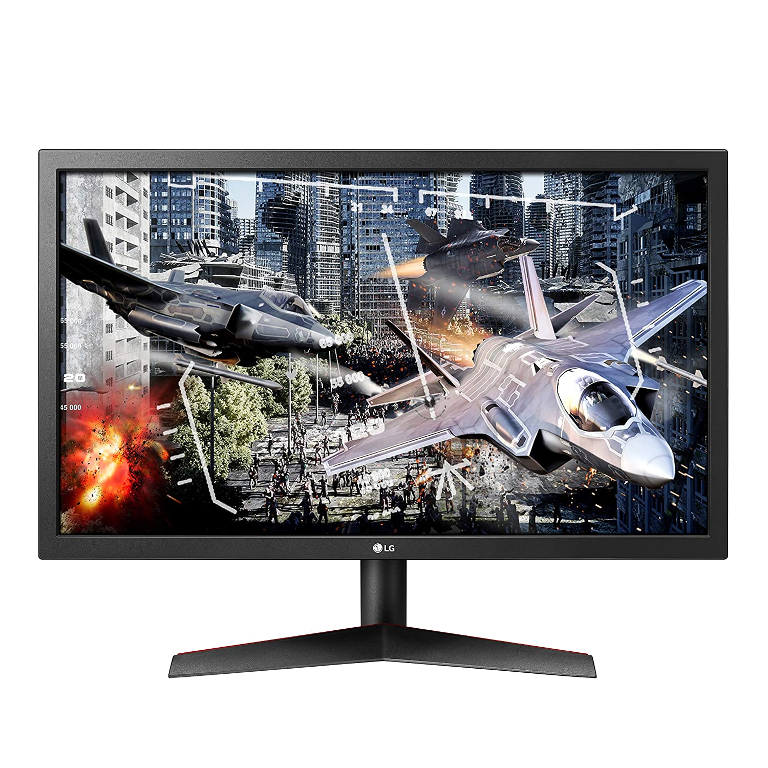 LG Ultragear 24GL600F-B 24 Inch Full HD Gaming Monitor with Radeon FreeSync Technology, 144Hz Refresh Rate, 1ms Response Time 2019 – Black