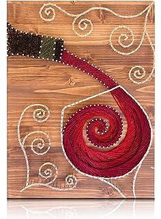 Amazon Com Diy String Art Kit Sunflower String Art