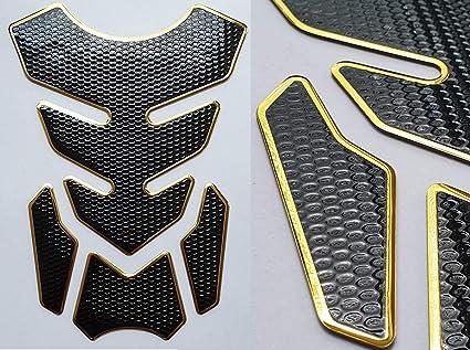Protector para depósito, para motocicleta, apto para GSXR 1000 750 600 Racing Azul Tuning: Amazon.es: Coche y moto