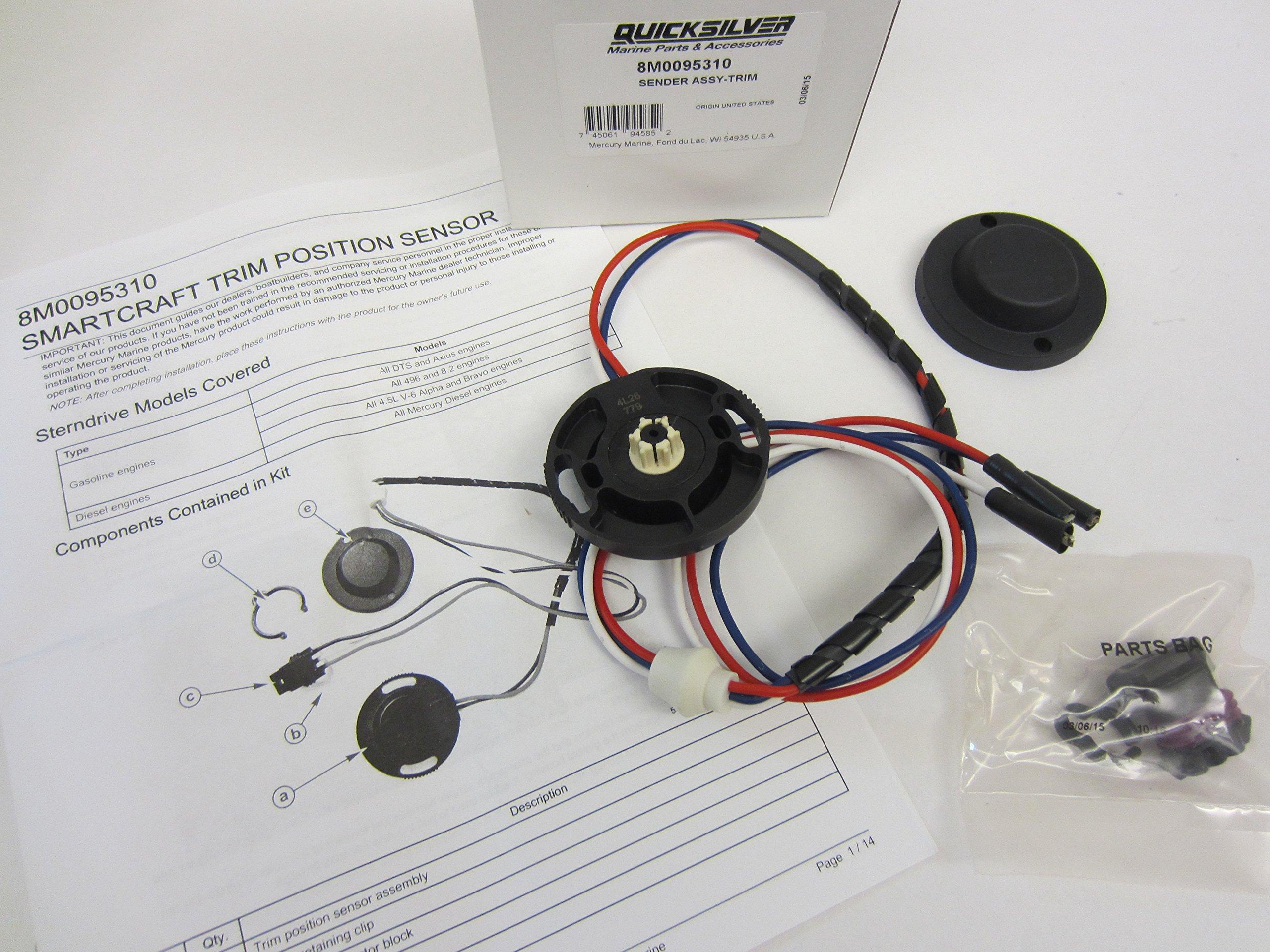 Mercury OEM Trim Sender Sensor Assembly 863187A1 Smartcraft