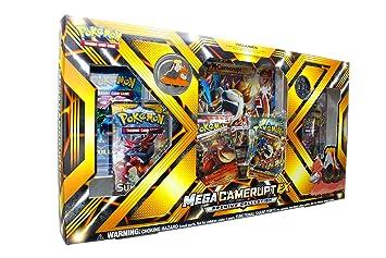 Pokèmon TCG: Mega EX Camerupt Colección Premium EX Box ...