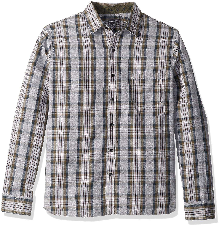 a53d6822d1 Van Heusen Men s Never Tuck Slim Fit Shirt at Amazon Men s Clothing store