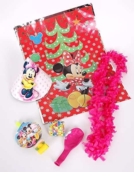 Set de bolsas de cotillón de Minnie Mouse: Amazon.es: Hogar