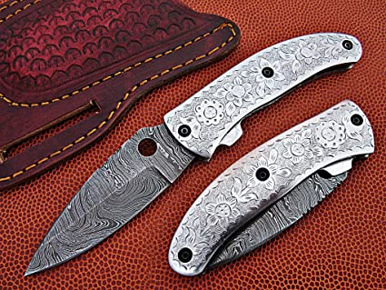 Amazon.com: Personalizado hecho a mano damasco – Cuchillo ...