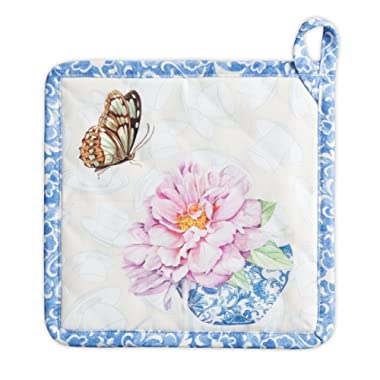 Maison d' Hermine Canton 100% Cotton Pot Holder 8 Inch by 8 Inch